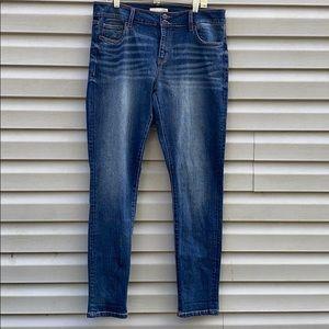 Daytrip | Mila Skinny Denim Blue Jeans size 32